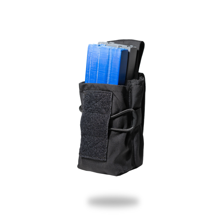 Dual Mag Pouch 5.56X45-Open-Angle